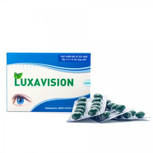 LUXAVISION | Hỗ trợ tăng cường thị lực và hạn chế lão hóa mắt