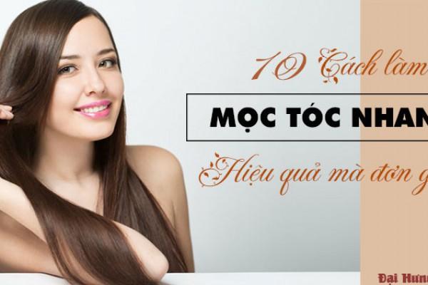 Top 10 Cách mọc tóc nhanh nhất hiệu quả mà đơn giản tại nhà | Đại Hưng Pharma