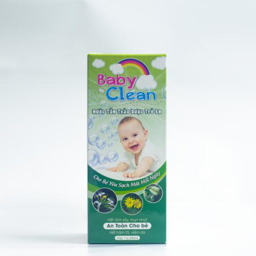 Nước tắm thảo dược Baby Clean
